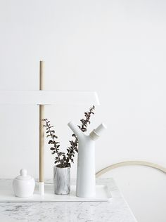 Interior Styling Inspo | x 3 #interiors #ceramics http://www.thedesignchaser.com/