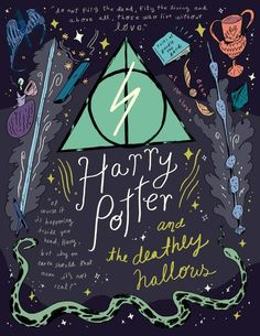 Harry Potter and the Deathly Hallows by Natalie Andrewson