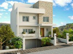 Decor Salteado - Blog de Decoração | Arquitetura | Construção | Paisagismo: Fachadas de casas de sobrados – veja 50 modelos lindos!