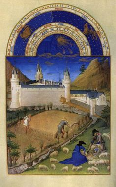 Tres Riches Heures - July  Linbourg Brothers 1412-1416