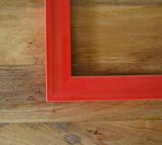 Red Color Pop Retro Custom Wood Art & Picture by TheFrameFarm