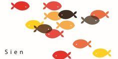 geboortekaartje vis