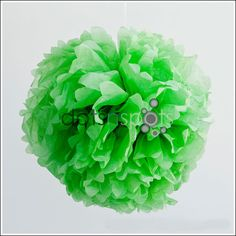 Budget Party Ideas Tractor Theme Green Pompom