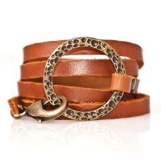 leather & bronze