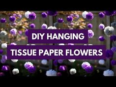 DIY Tissue Paper Flowers | Mid-South Bride