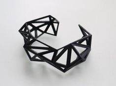 Printed Jewelry by Archetype Z studio combining architecture background with jewelry design. 3d Printed Jewelry, Geometric Jewelry, Best Jewelry Designers, 3d Cnc, 3d Prints, Statement Jewelry, Silver Jewelry, Silver Ring, Silver Earrings