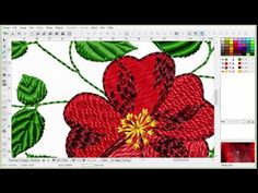 Learn to Digitize Embroidery - an Introduction to Embird: Part 1 E1. - YouTube