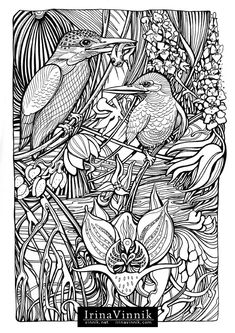 Manic Botanic, Zifflin's Tension Taming Coloring book, invites you to get in touch with nature in all of its glory. In incredible detail, Vinnik has captured some of nature's most dynamic duos. Time slows down so you can explore the undergrowth, and allow…