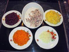 Russischer Schichtsalat, ein raffiniertes Rezept aus der Kategorie Osteuropa. Bewertungen: 16. Durchschnitt: Ø 3,8.