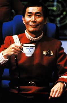 We like to think the Excelsior was a pretty chill place as long as Sulu got his morning coffee