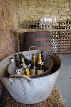Rustic Barrel bar | Bath Vintage Hire