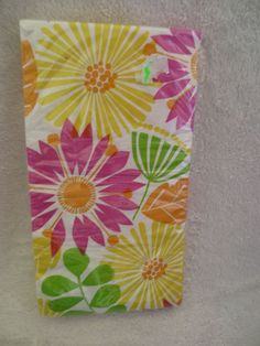 Floral Kaleidoscope Napkins Party Celebrations 16-2ply New  #Party #Any