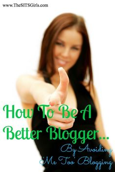 n't writing for my readers, I was writing to get traffic and comments. The best advice I received about blogging was to f