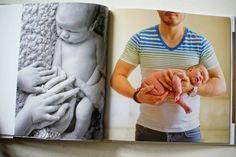 Newborn Photo Session Photo Book
