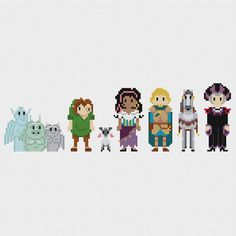 Disney Hunchback of Notre Dame Cross Stitch by pixelsinstitches