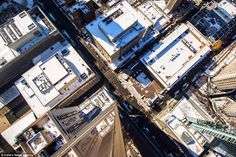 From on high: Many of Dark.Cyanide's photographs are taken around Manhattan. This picture ...