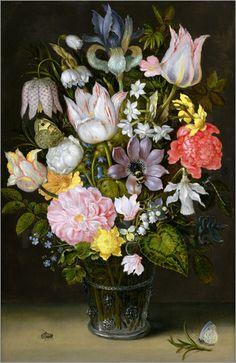 Im 17. und 18. Jahrhundert befanden sich florale Stillleben im wahrsten Sinne des Wortes in ihrer Blütezeit. Vor allem in den Niederlanden entstanden zahlreiche Blumenstillleben. Die Bilder verdeutlichten den Reichtum und Wohlstand ihrer Besitzer.