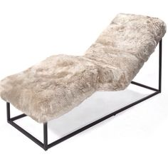 Bradley sheep skin lounger. She's got curves and lines!