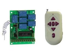 315MHz / 433MHz Wireless Remote Control Switch System AK-RK06B-12+AK1000-06B by QLPD. $51.78. Wonderful wireless remote control switch for home appliance! Just take a remote control and you can easily control all electrical appliances at home, moreover, the remote control switch is easy to install and use.