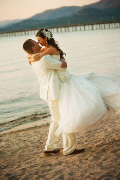 Gorgeous beach wedding!