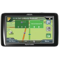 """Magellan RoadMate 9055 7-Inch Bluetooth Portable GPS Navigator with Lifetime Traffic by Magellan. $237.52. Amazon.com                Introducing the exclusive extra-large 7"""" GPS navigation device from Magellan. This easy-to-read GPS navigation device is perfectly at home in your car, yet designed for large vehicles such as SUVs, trucks and RVs. The panoramic, high-resolution 7"""" WVGA screen makes viewing your map while driving quick and easy! This ultra-clear vibrant dis..."""