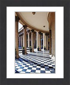 Architectural Columns, Montevideo, Building Exterior, Capital City, Colour Images, Modern Frames, Tourism, Framed Prints, Architecture