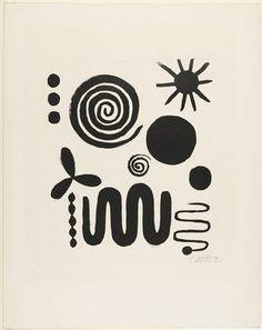 Alexander Calder, Untitled 1946.