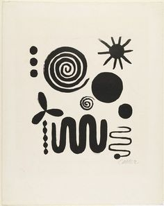 Alexander Calder, Untitled 1946. Usually I don't go for the modern stuff but this is different.
