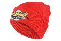 Big Bang Theory - Bazinga Beanie (Color Red)