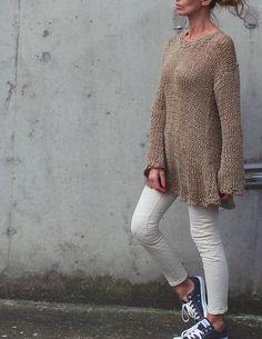 Идея: вязаный платье от ileaiye