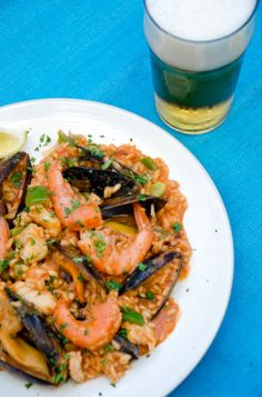 Arroz de Marisco - Portuguese Seafood Rice--one of my absolute favorite foods in the world!