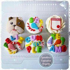 Cupcakes Cumpleaños (Birthday) Bulldog Santa Fe