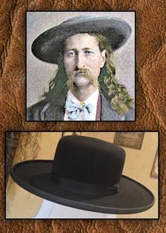 95a78c75dd5 Wild Bill HIckock Style 5X Old West Hat from Tribal lAnd Western  Impressions - www.indianvillagemall.com