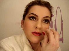 Maquiagem da Melina da novela Passione por Alice Salazar - Parte 3