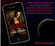 #SaturdaySpankings ... New sci-fi erotic romance from Ashe Barker