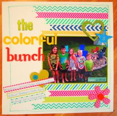 The Colorful Bunch - Scrapbook.com