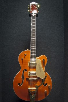 Gretsch G6120tm Chet Atkins Hollow Body Tiger Maple Flame Top - $2,499.99