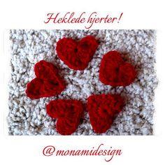 HobbyMegHer - Mon Ami!: Magiske Hjerter: oppskrift!