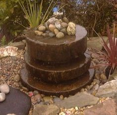 water fountains | Millstone Fountain Water Feature from English Garden Antiques