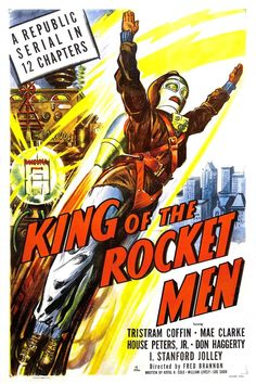 King of the Rocket Men. 27 Spine-Tingling Horror Movie Posters You Need To See Horror Movie Posters, Horror Movies, Man Movies, Movie Tv, Sci Fi Horror, Fantasy Movies, The Villain, Sci Fi Art, Vintage Movies