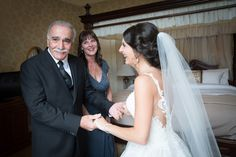 Father of the brides reaction when he sees his daughter. Wedding photography, Ireland. Wedding day, Weddings in Ireland, Tara Donoghue Photography.