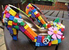 Lego recyclé en chaussure : Cendrillon n'a qu'à bien se tenir !