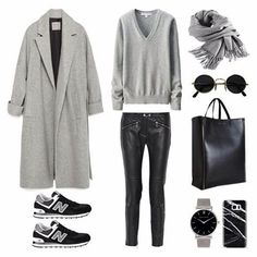 Weekend wear  Shop everything in your inbox via  @liketoknow.it www.liketk.it/27hzt #liketkit #ootd #outfit #outfitoftheday #fashion #style #polyvore #instaoutfit #instafashion #newbalance #greycoat #minimal