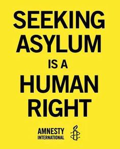 The Asylum Seeker debate is raging in Australia right now. I'm ashamed at the way this country treats refugees and asylum seekers.