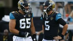 Blake Bortles and Brandon Linder