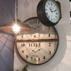 Vintage ρολόγια τοίχου by villart.gr