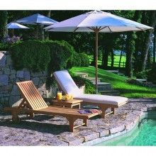 The #Nantucket chaise has a great name and great style for your #outdoor living. Thank you #Kingsleybate