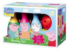 Peppa pig set bowling