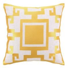 Love the pattern on this pillow