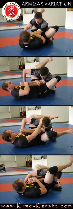 Arm Bar Variation - Jiu Jitsu /Jujutsu